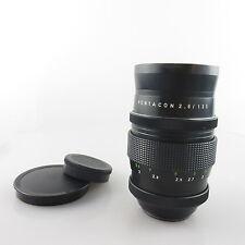 M42 15 blades Pentacon 2.8/135 objetivamente/lens