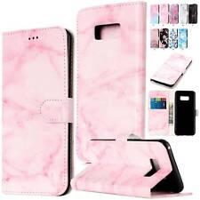 Leather Flip Folio Card Slot Case Slim Cover For Samsung Galaxy S10e S9 S8 Plus