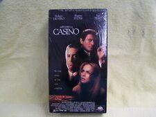 CASINO VHS 2 TAPE SET - FACTORY SEALED DENIRO - STONE - PESCI