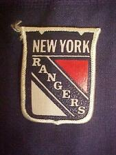"""NEW YORK RANGERS  --2+3/8""""x 2"""" Vintage PATCH--Iron or Sew on"""