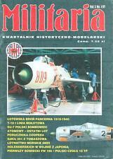 MILITARIA 1/97 POLISH AF Su-7 FITTER / DORNIER Do.24 / MERION C. COOPER / Fw190A