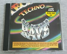 Various Artist ( 群星 ) ~ Techno Rave ( VSP ) ( Malaysia Press ) Cd