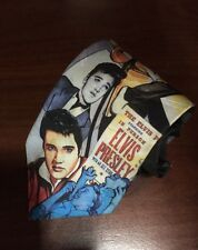 Vintage Elvis Presley With An All Star Black Tie 1994 Authorized Ralph Marlin