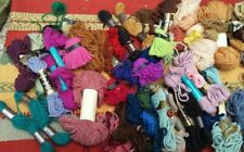 Job Lot Tapestry Wool skeins - Anchor, Multi Colours Vintage Embroidery Yarn