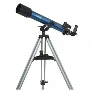 Meade 209003 Infinity 70-Millimeter Altazimuth Refractor (Blue) Telescope
