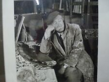 Photo of Sir Kyffin Williams Framed limited edition Signed Sinclair Welsh art