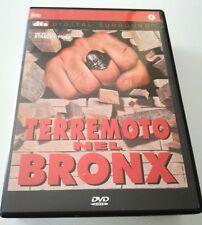 TERREMOTO NEL BRONX FILM DVD OTTIMO ITALIANO SPED GRATIS + ACQUISTI!!