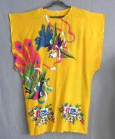 Kaftan Dress 100% Rayon Multi-Color Size M/L