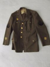 ^ (001) US WWII uniforme chaqueta de 1942 cabo