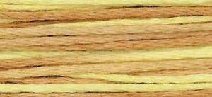 WEEKS DYE WORKS 6 Strand 5yd Hand Dyed Floss THREAD Needlework,Cross Stitch A-L