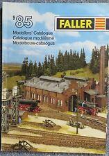 per Faller Modellismo Anno Catalogo 1985 3 lingue, engl-franz niederl