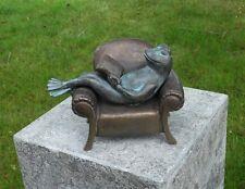 Bronzeskulptur,Frosch,Statuen,Gartenfigur,Dekor,Tierfigur,Garten,