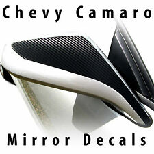 Chevy Camaro mirror accent decals pre-cut 2010 2011 2012 2013 2014 2015 LT SS RS