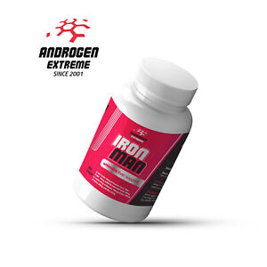 Androgen Extreme Iron Man Ultimate Liver Support 90 Capsules Thistle Tudca
