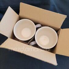SET New Le Creuset Second Choix Giant Cappuccino bistro Mug Cup 400ml FLINT