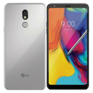 LG Stylo 5 - 32GB - Silvery White (Factory Unlocked) - Excellent
