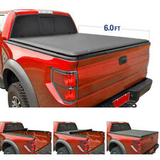 "New 6 Ft 72"" Bed Soft Roll & Lock Tonneau Cover for Chevy S10/GMC Sonoma 94-2004"