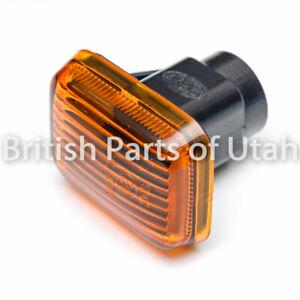 Range Rover P38 Discovery 1 I Side Marker Lamps Lights Lens Fender Amber Orange