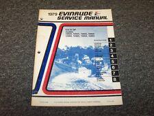 1979 Evinrude 9.9 15 HP Outboard Motor Shop Service Repair Manual Guide Book