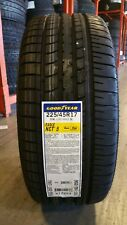 2 NEW 225/45R17 GOODYEAR EAGLE NCT5  225/45/17 EAGLE NCT5 RUN FLAT 2254517