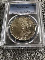 1881 S Morgan Silver Dollar PCGS MS66