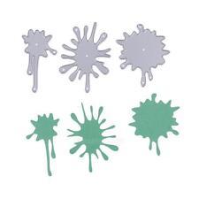 3pcs Water Mark Cutting Dies Stencil DIY Album Scrapbooking Paper Card Crafts