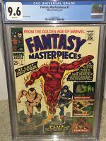 Fantasy Masterpieces #7 CGC 9.6 Marvel 1967 Captain America Avengers F10 110 cm
