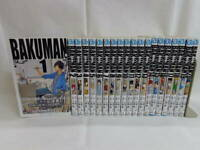 Japanese Comics Manga Complete Set Bakuman vol. 1-20