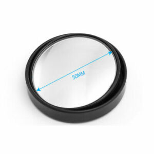 BLIND SPOT CONVEX MIRROR WIDE VIEW TOWING REVERSING DRIVING SELF ADHESIVE CAR