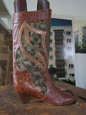 Damenstiefel made in italy TRUE VINTAGE Damen Stiefel EUR 37 summer boots UK 4