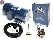 KB Electronics KBMD-240D DC drive 9370 w/ Leeson 1800rpm 3/4hp motor MADE IN USA