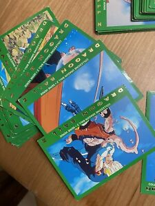 lotto 82 Carte dragon ball serie verde lamincards - Condizioni Buone - ITA