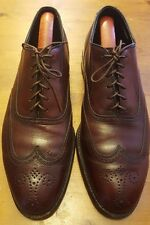 Vintage, Foot Joy, Cordovan Burgundy, Leather, Wing Tips (Size 9C)