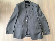 NWT Valentino Roma Pin Striped Black Suit Sport Blazer Pants Coat 50 40 R