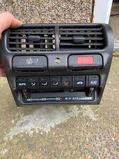 Honda Integra DC2 Type R OEM Heater Controls Centre Console Switches