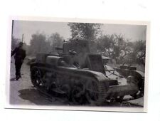 orginal Foto Technik Panzer   2 WK