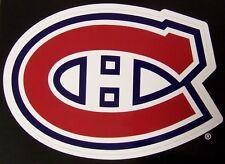 Window Bumper Sticker NHL Hockey Montreal Canadiens NEW
