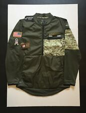 Nike Oakland Raiders Salute to Service STS NFL 2017 Hybrid Jacket Mens Size M