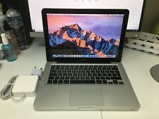 "Apple MacBook Pro 13.3"" A1278 2010 Core 2 Duo 2.4 GHz 4GB / 128GB SSD"