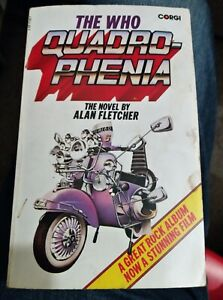 The Who Quadrophenia The Novel by Alan Fletcher paperback