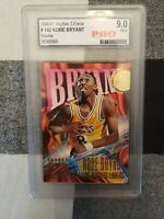 1996 Skybox Z-Force ** KOBE BRYANT - RC - HOF ** PRO Graded  9 Mint