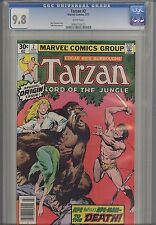 Tarzan #2  CGC 9.8 1977  Marvel  Comic: Origin issue... White Pages