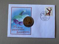 Bund - Numisbrief - 175 Jahre Düsseldorfer Karneval / 17.02.2000