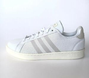 adidas Sport Inspired Grand Court Sneaker Mesh Tennis Herren Weiß F36985 SALE