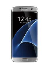 "NEW Samsung Galaxy S7 Edge 32GB G935FD Dual SIM GSM UNLOCKED 5.5"" Phone Silver"