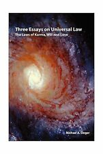 Three essays on universal law: The laws of Karma will and love Free Shipping