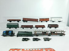BB202-2# 11x H0/DC Bastler-Güterwagen: DB+DR+ÖBB+FS (3x Roco 1x Fleischmann etc)