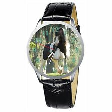 Magnific Horse Stainless Wristwatch Wrist Watch
