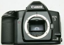 CANON EOS 3 FILM SLR BODY BOXED + USER MANUAL - WORKING CONDITION
