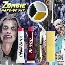 Halloween-Schminke Liquid Latex Fake Blood For Horror-Outfit Zombie-Makeup-Set